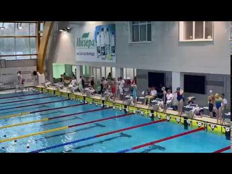 Елизавета Барбатина завоевала золото на всероссийских соревнованиях по плаванию