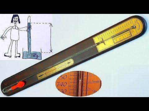 Torricelli Mercury Stick Barometer – Explanation and Repair