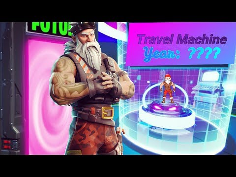 TRAVEL Through AGES, And Fix The Time Machine! (Fortnite Escape Room)