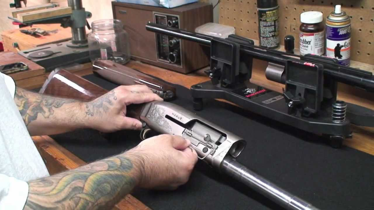 How To Clean A Browning Maxus Shotgun With The Yankee Cowboy Part 2