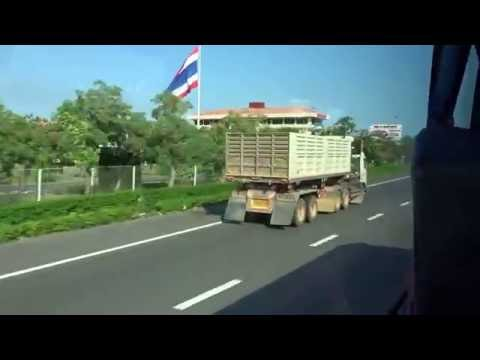 Bell Travel Service bus from Suvarnabhumi International Airport to Pattaya