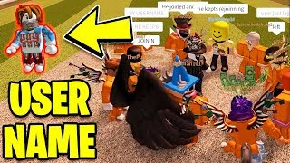 Jailbreak Simon Says GONE WRONG!! *MyUsernamesThis Joins!* | Roblox Jailbreak