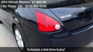 2004 Nissan Maxima SE for sale in LAWRENCEVILLE, GA 30044 at