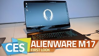 Dell Alienware m17 Gaming Laptop First Look