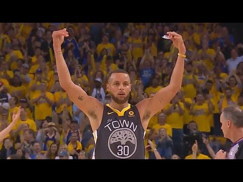 Stephen Curry Destroys The Cavaliers & Shocks The Warriors Crowd With Unbelievable Shots in Game 2!