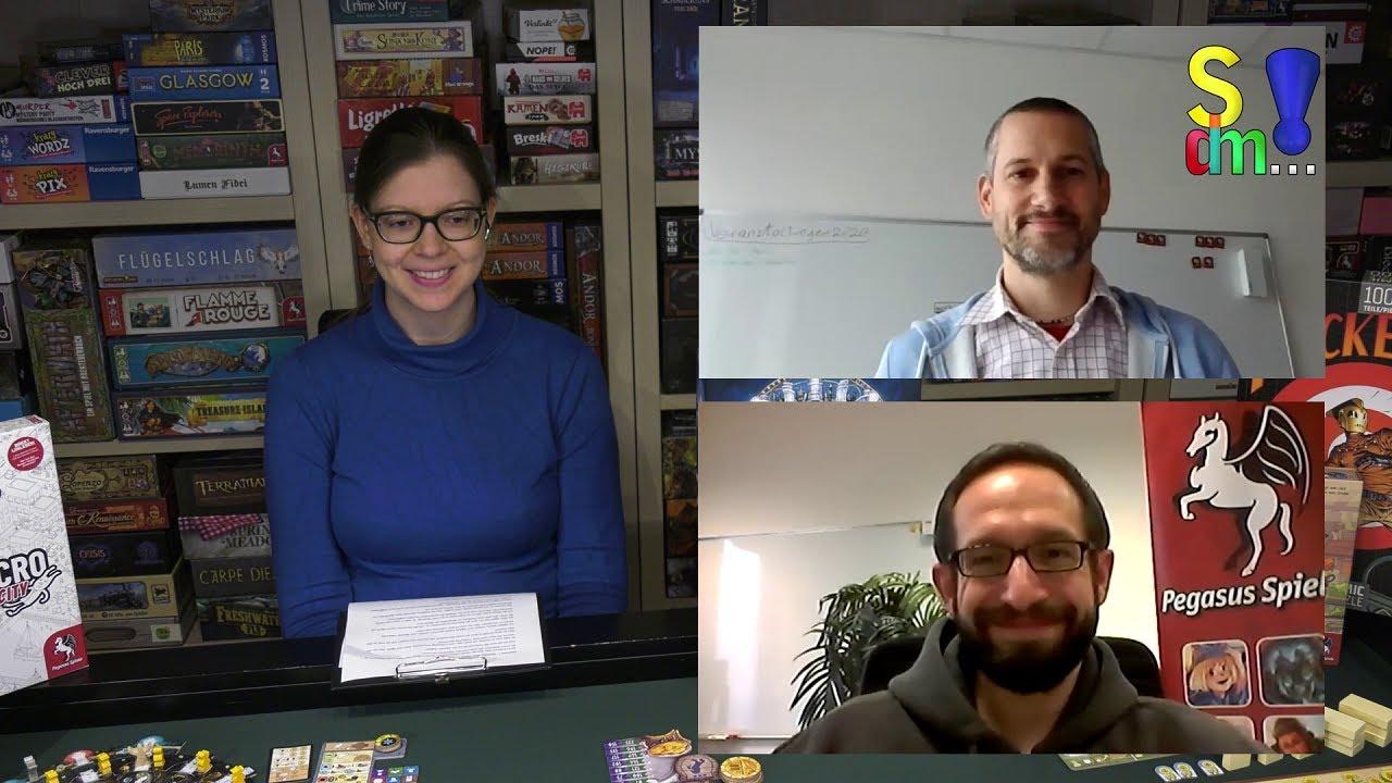 SPIEL.digital 2020 - Pegasus Spiele im Interview -Ein Rückblick auf die Pandemie-Spiel doch mal...!