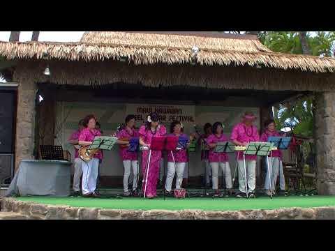Yokohama Hawaiian Music Academy   Beautiful Kahana  ~ 14. April 2018