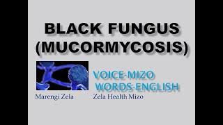 Black fungus mucormycosis Mizo