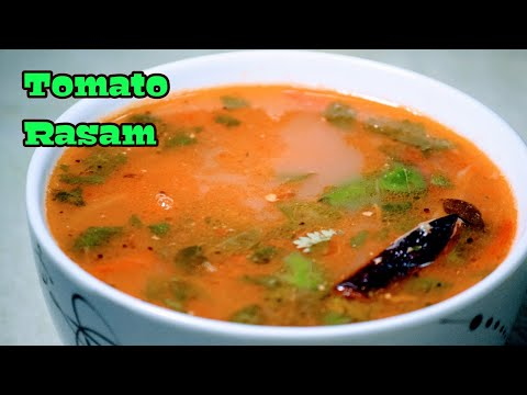 Tomato Rasam | Simple South Indian Recipe | Tomato Charu