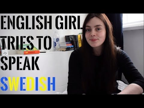 English Girl Tries To Speak Swedish [ENG SUBS] | beelingual