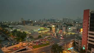 Prime Hotel Central Station Bangkok Time-lapse Day to Night
