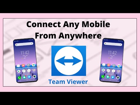 How To Connect Mobile To Mobile Using Team Viewer 2019 | Connect Any Mobile From Anywhere TeamViewer