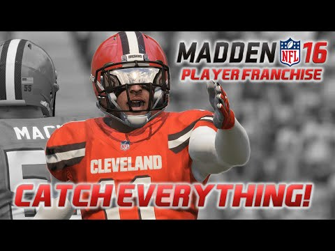 Madden NFL 16 - WR Player Franchise - Beasting In the NFL!
