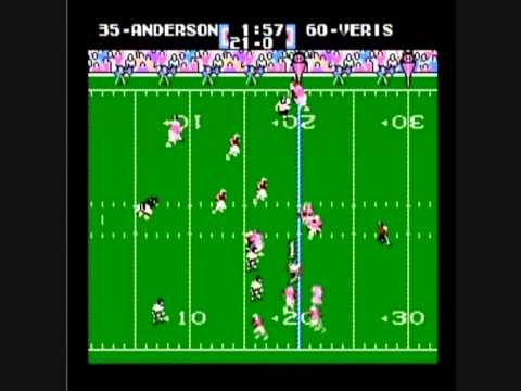 Neal Anderson Tecmo Super Bowl Taunting Fun Run