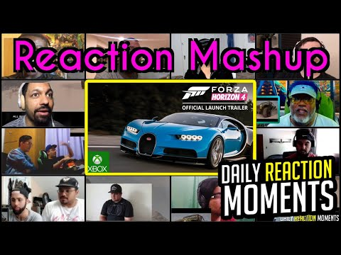 Forza Horizon 4 - E3 2018 - Announce Trailer - Reaction Mashup