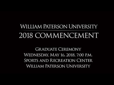 WP Graduate Commencement Ceremony 2018