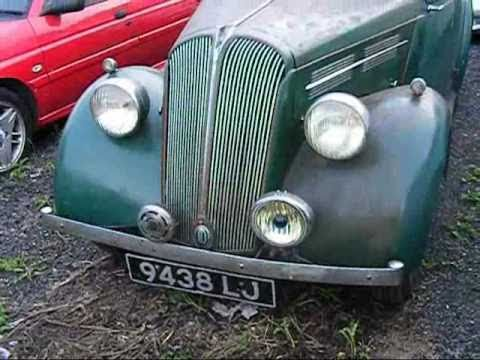 (Part 1) 1937 STANDARD FLYING 10 classic English car 1930s BRITISH