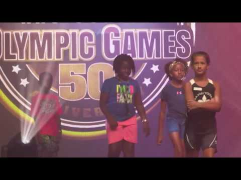 2016 AAU Junior Olympic Games Opening Ceremony