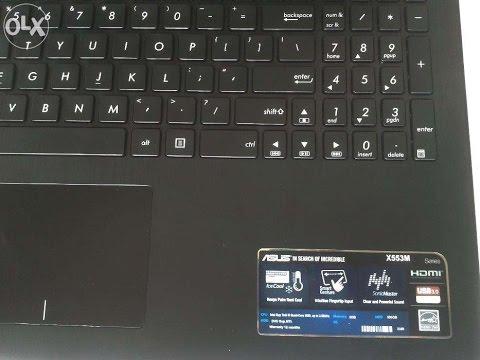 ASUS X553M Windows 8.1 installation
