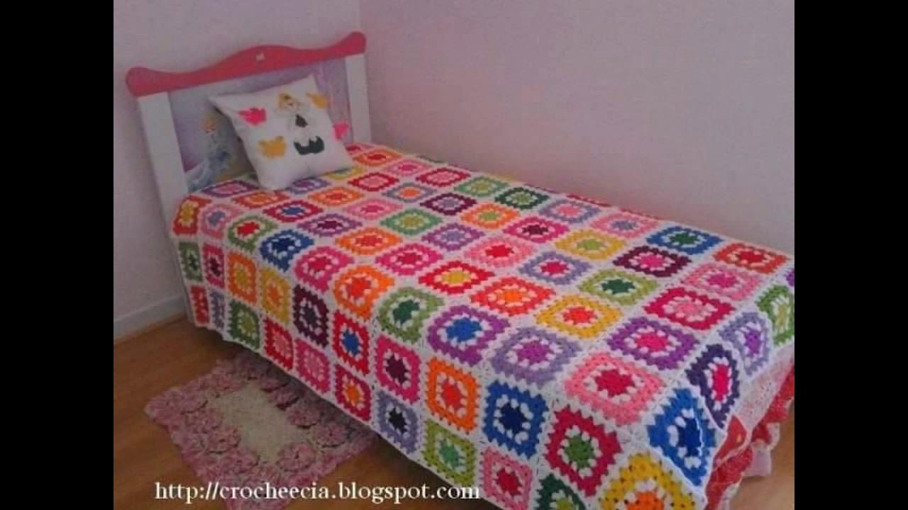 Colchas para camas tejidos a crochet de flores tejidos for Cama wikipedia