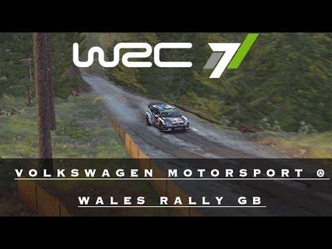 WRC 7 | VOLKSWAGEN MOTORSPORT @ WALES RALLY GB