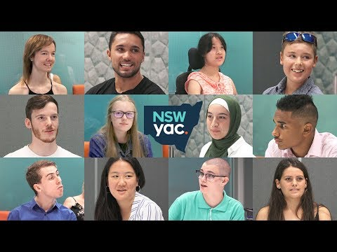 NSW Youth Advisory Council 2018 announcement