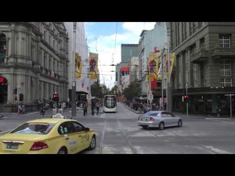 Route 86 Melbourne Tram Drivers View - May 2016