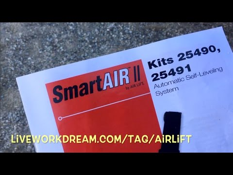 AirLift SmartAir II Auto-Level Air Bag Compressor System