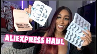 20+ PAIRS OF LASHES FOR $14 ALIEXPRESS HAUL