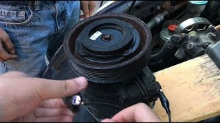 How To Test Clutch On Your Car AC Compressor | Using Simple DIY Lead Wires, Multimeter & Power Probe
