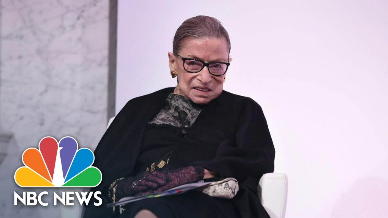 Ruth Bader Ginsburg, Supreme Court Justice, dead at 87 ...