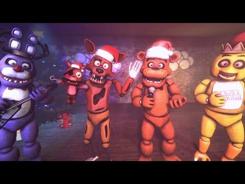 SFM| Una navidad en Freddy FazBear's Pizza| Animacion 3D