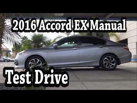 2016 honda accord ex manual 0 to 60 test drive youtube. Black Bedroom Furniture Sets. Home Design Ideas