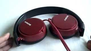 review sony mdr zx310 headphones