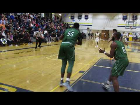 Milford Mill/Perry Hall boys basketball 02/12/18