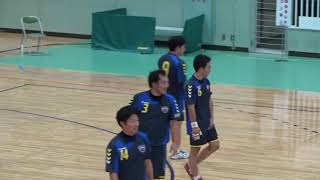 第24回ジャパンオープンハンドボールトーナメント 土浦三高クラブVS長崎社中 ダイジェスト版