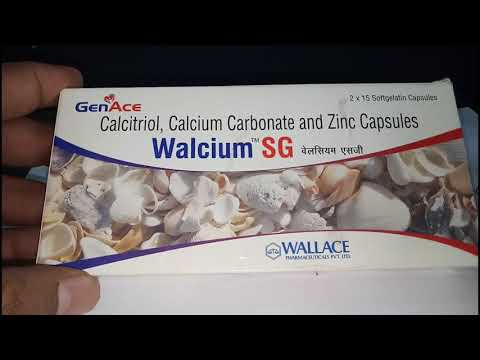 Walcium Sg Softgel Cap Benefits Review In Hindi Youtube