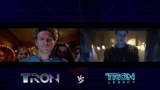 Side-By-Side comparison: Tron vs Tron: Legacy