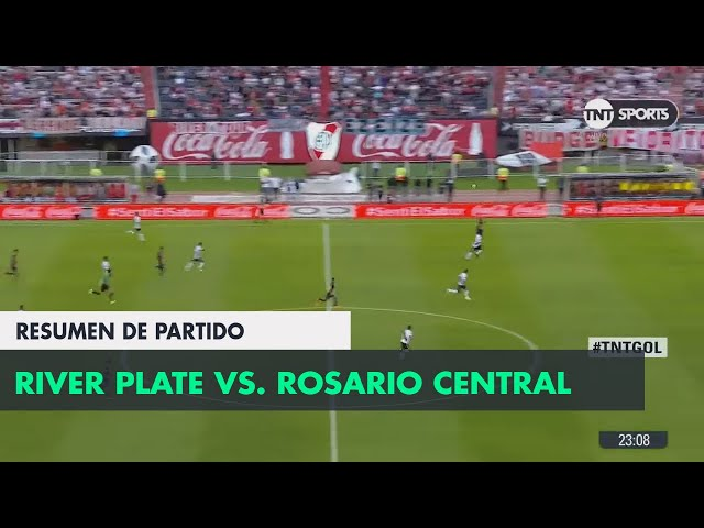 Resumen de River vs Rosario Central (2-0) | Fecha 23 - Superliga Argentina 2017/2018