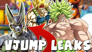 V-JUMP LEAKS! Cell & Piccolo in Jump Force, DBS New Arc, XV2 DLC 8 Info, Dokkan & Legends!