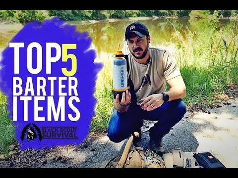 Top 5 Barter Items