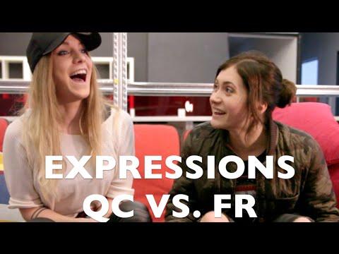 EXPRESSIONS QUÉBEC VS FRANCE (avec Emy LTR)