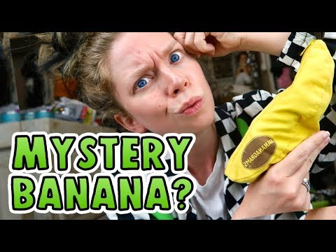 I Found This Banana? WHAT'S INSIDE?