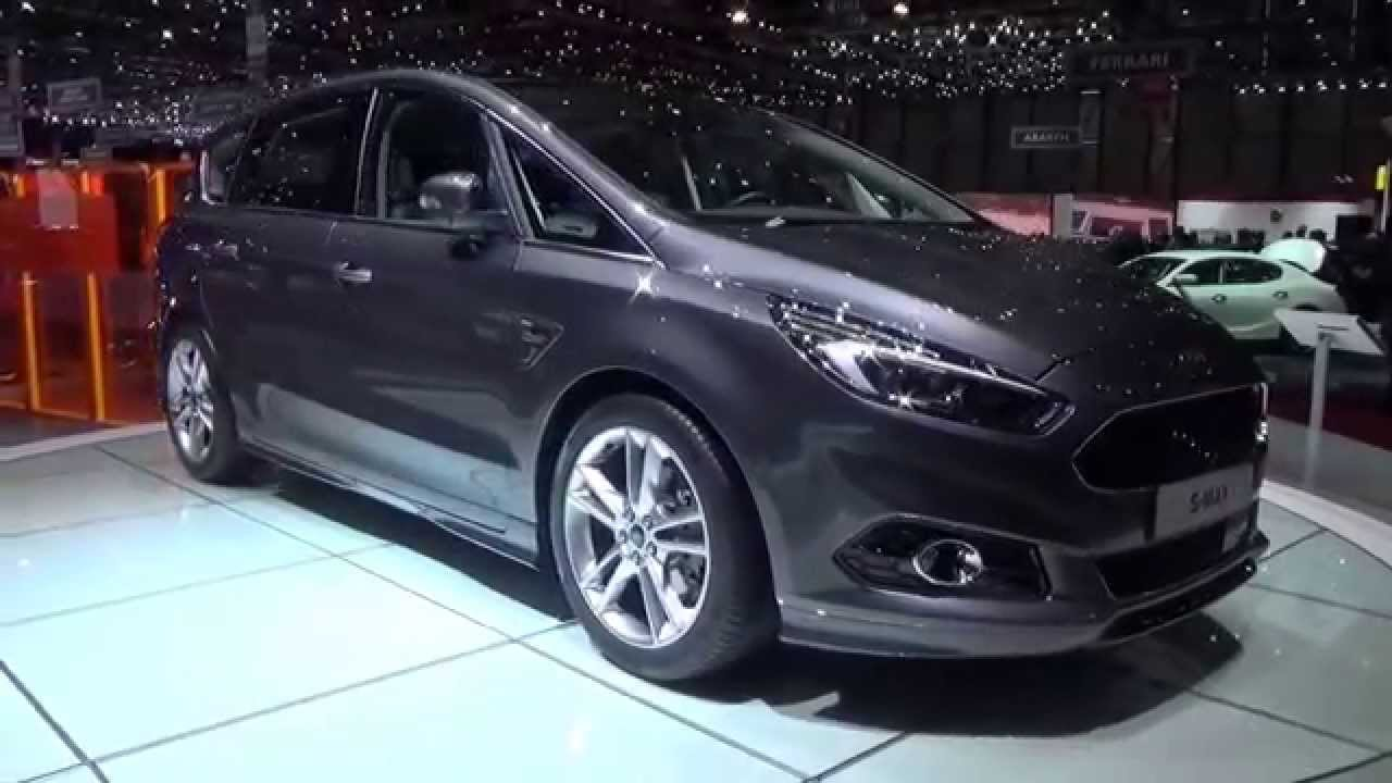 2016 ford s max s exterior and interior geneva motor. Black Bedroom Furniture Sets. Home Design Ideas