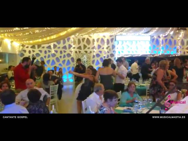 Cantante Gospel Restaurante Area Sunset La Manga del mar menor Wedding Bodas Musical Mastia