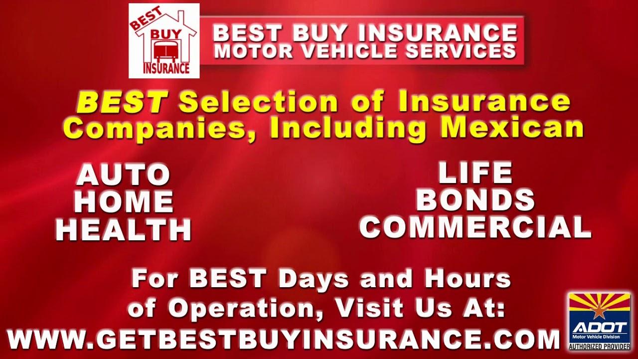 Best Buy Insurance >> Affordable Auto Insurance Best Buy Insurance Arizona Youtube