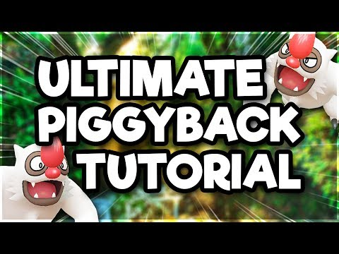 ULTIMATE PIGGYBACK TUTORIAL | Pokémon GO thumbnail
