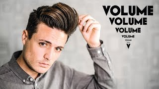 How To: Build Long Lasting Hair Volume | 5 Volume Hair Tips | Mens Hairstyle Tutorial | BluMaan 2017