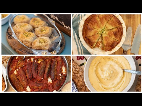 A Mediterranean Greek  Comfort Food Feast   4 Make Ahead Freezer Recipes!