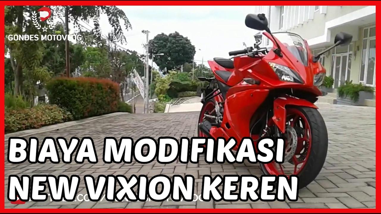 Biaya Modifikasi Vixion Gondes Motovlog VS Rizki Motovlog